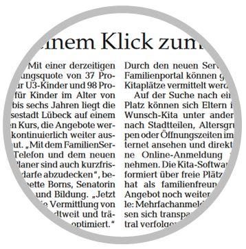 Bild Lübecker Wochenzeitung